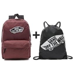 Plecak vans realm backpack + worek torba vans benched bag - vn000suf158
