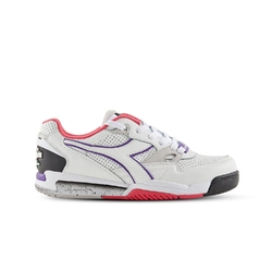 Sneakersy damskie diadora rebound ace wn - biały