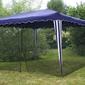 Moskitiera na pawilon 3x3, 2x62,2 m, siatka na namiot ogrodowy, czarna