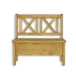Ławka z oparciem 150 cm cevilo drewniana