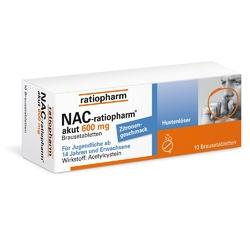 Nac ratiopharm akut 600mg lek na kaszel w tabletkach