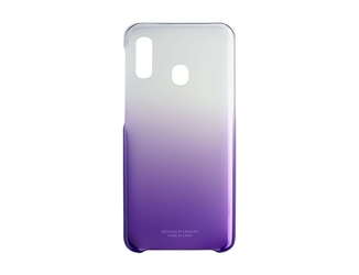 Samsung Etui Gradation Cover do A20e fioletowe
