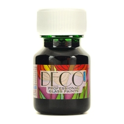 Witrażowa farba do szkła deco 30 ml-zieleń cytryno - zct
