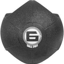 6 kg piłka lekarska treningowa z uchwytem gorilla sports