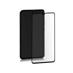 Qoltec Szkło hybrydowe ochronne do Huawei P30 | czarne | pełne