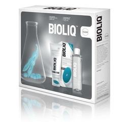 Bioliq clean płyn micelarny do każdego typu cery 200ml + oczyszczający żel do mycia twarzy 125ml