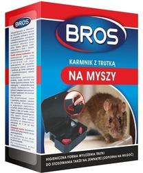 Bros, karmnik z trutką na myszy, 1 sztuka