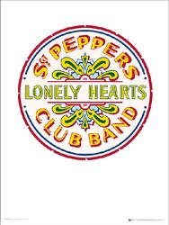 The Beatles Sgt Pepper 2 - plakat premium