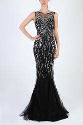 Soky soka  sukienka czarny 53006-2