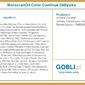 Moroccanoil color continue condition nawilżająca odżywka włosy farbowane 1000ml