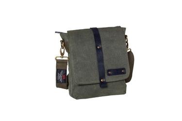 Bawełniana torba na ramię unisex 2jus by daag zone 2 oliwka - oliwkowy