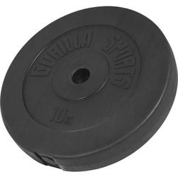 10 kg obciążenie winylowe na sztangę talerz 30 mm gorilla sports
