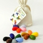Kredki z wosku z soi w bawełnianym woreczku - 8 kolorów