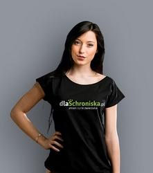 Dlaschroniska.pl t-shirt damski czarny xxl
