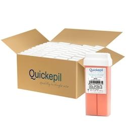 Quickepil 50szt. wosk do depilacji rolka róża 110g