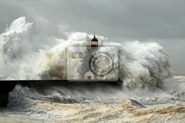 Fototapeta windy coast