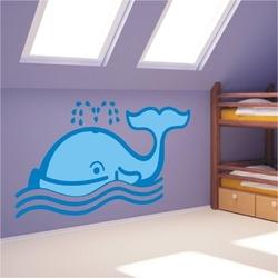 Wieloryb 972 naklejka