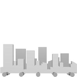 Wieszak ścienny Skyline CalleaDesign biały 52-13-1-1