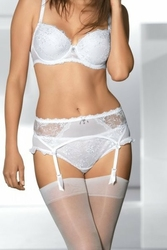 Ava 1204 biały stringi