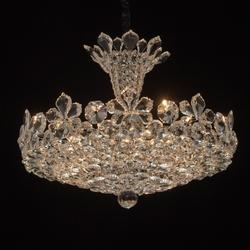 Kryształowa lampa wisząca na 14 żarówek laura mw-light crystal 345010814