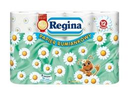 Regina, rumiankowy papier toaletowy, 3 warstwy, 12 rolek