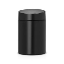 Brabantia - kosz slide bin - pokrywa plastikowa – 5l - czarny  pokrywa czarna
