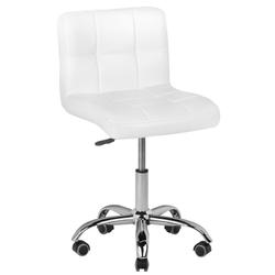 Krzesło kosmetyczne a-5299 białe
