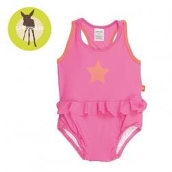 Lassig kostium do pływania jednocześciowy z wkładką chłonną light pink uv 50+