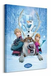 Frozen Snow Group - Obraz na płótnie