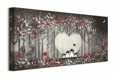 Heart of the forest - obraz na płótnie