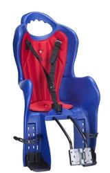 Fotelik elibas t mocowanie na tył do ramy niebieski-czerwony