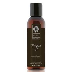Olejek do masażu bezzapachowy - sliquid balance massage escape 125 ml