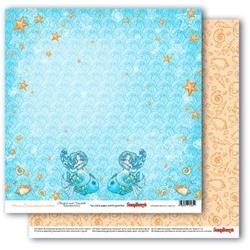 Papier Ocean Enchantment - Starlish and Seashells - 02