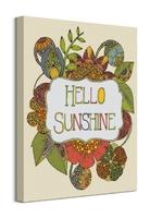 Hello sunshine - obraz na płótnie