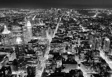 Manhattan panorama - fototapeta