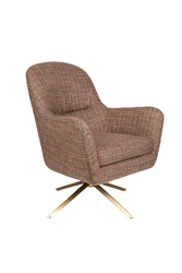 Dutchbone fotel lounge robusto texas w kratke 3100088