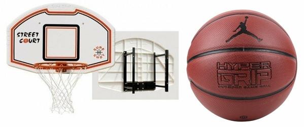 Zestaw Sure Shot 508 + Piłka Jordan Hyper Grip