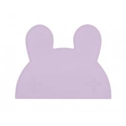 Silikonowa podkładka we might be tiny - lilowy króliczek