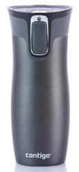 Kubek termiczny contigo west loop 2.0 470ml - grafitowy mat - grafitowy