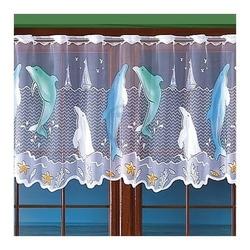 Firanka delfiny wysokość 70 cm