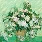 Roses 1890, vincent van gogh - plakat wymiar do wyboru: 29,7x21 cm