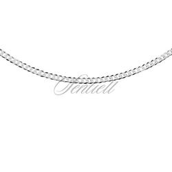 Pancerka diamentowana płaska pr. 925 ø 060 rodowanie - 2,4 mm