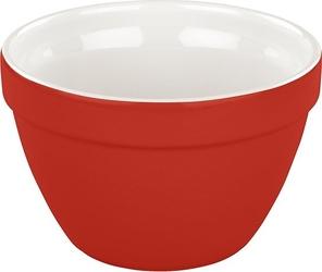 Misa ceramiczna retro tala 0,6 l czerwona