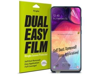 2x folia ochronna ringke dual easy film do samsung galaxy a20a30a50m10s