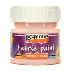 Farba do tkanin Pentart 50 ml - różowy jasny - RÓŻJAS