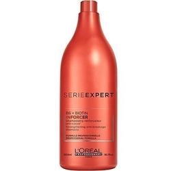 Loreal inforcer, szampon regenerująco-nawilżający do włosów łamliwych 1500ml