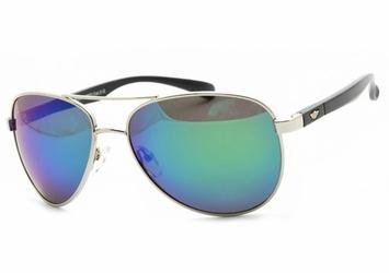 Pilotki polaryzacyjne okulary aviator lustrzanki pol-11a-3