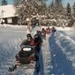 Wyprawa na skuterze śnieżnym z przewodnikiem - istebna 1 godzina