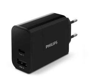 Philips ładowarka usb-a usb c 30w pd, qc