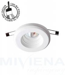 Ceramic oczko okrągłe 1 biały 11 cm
